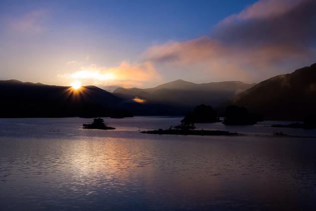 福島県、秋元湖