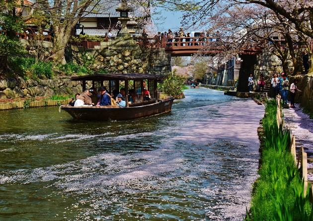 滋賀県 近江八幡水郷