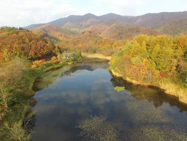 福島県北塩原村 華蔵沼