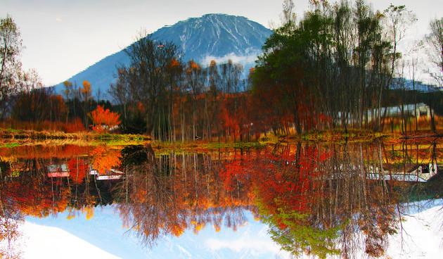 倶知安町富士見町姿見の池