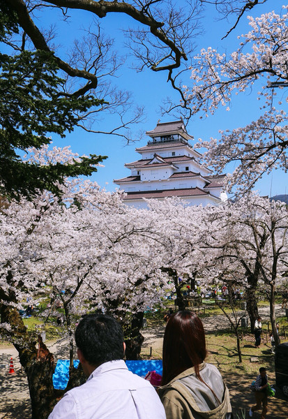 福島県、鶴ヶ城