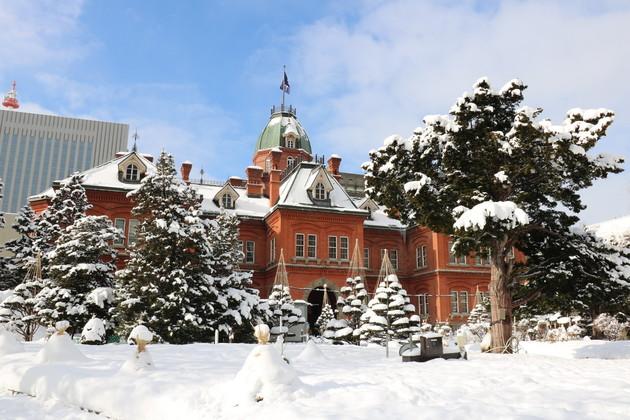 道庁赤レンガ(北海道庁旧本庁舎)