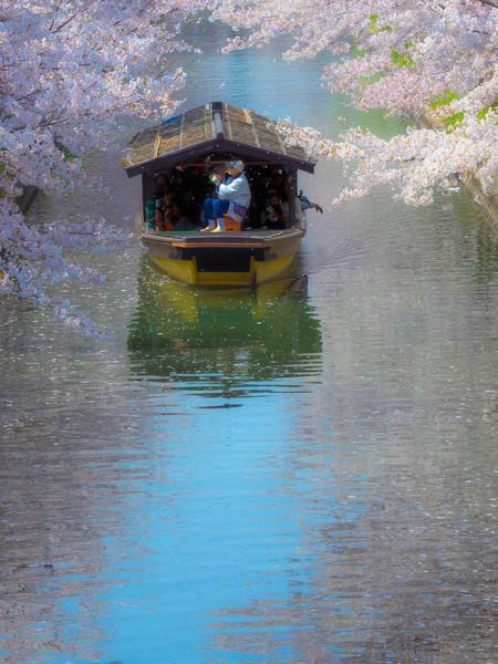 京都市伏見区 濠川