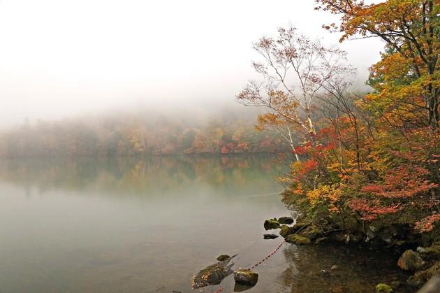 栃木県日光市湯元  湯の湖