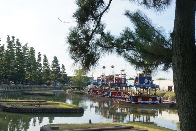 津島市天王川公園
