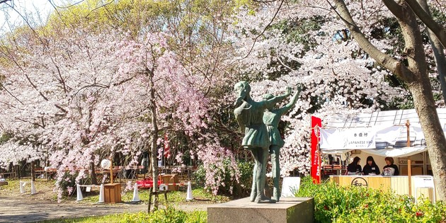 大阪城公園 東内堀
