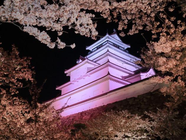 鶴ヶ城、福島県会津若松市