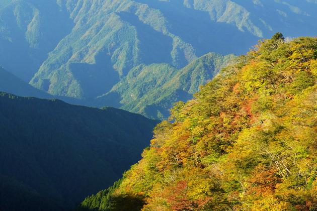 大台ケ原、奈良県吉野郡上北山村小橡