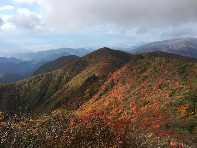 山形県 雁戸山