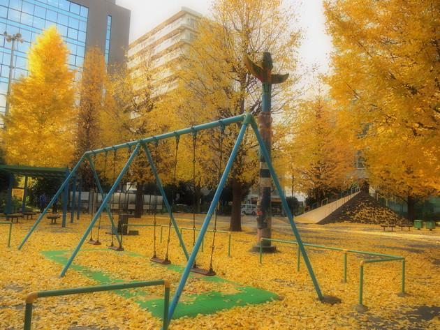 東京都大森 大井坂下公園
