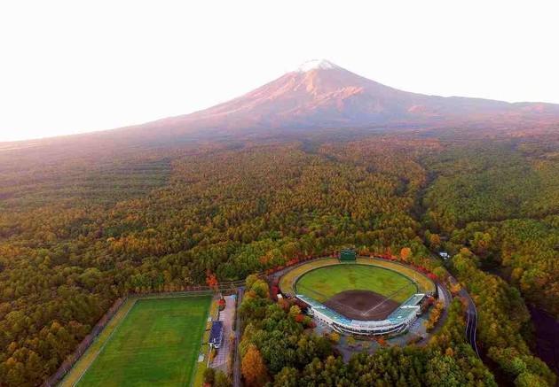 富士吉田市 富士北麗公園