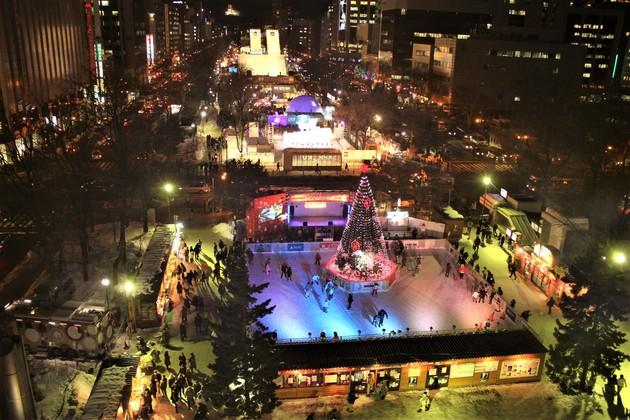 さっぽろ雪まつり大通公園