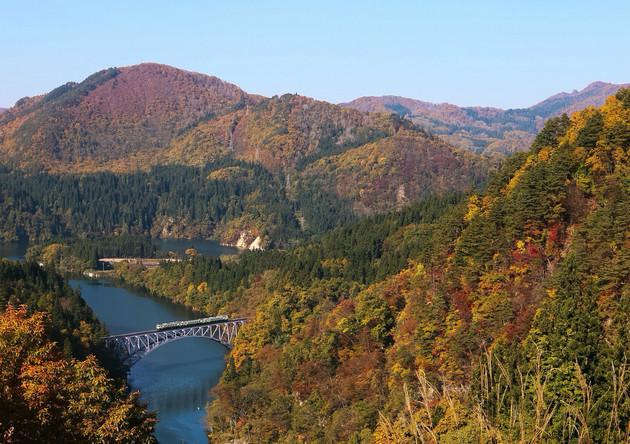福島県、第一只見線橋梁