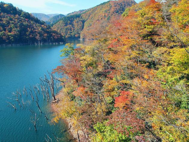 徳山湖 岐阜県