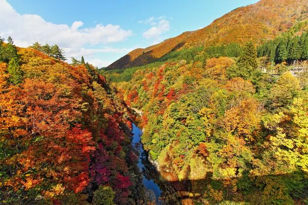 秋田県小安峡