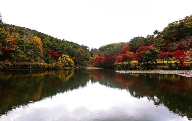 福島県、蛇の鼻遊楽園