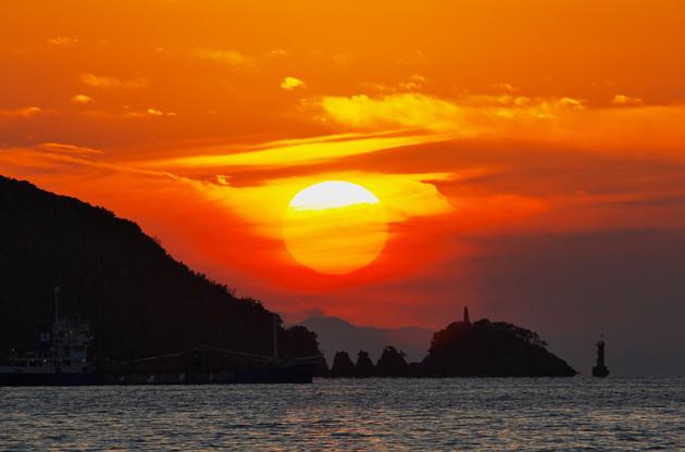愛媛県八幡浜市新川