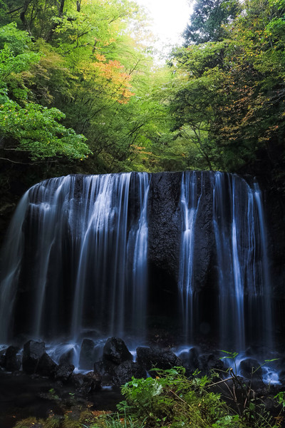 福島県、達沢不動滝