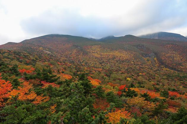 福島県安達太良山