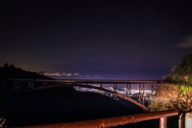 福島県、不動沢橋