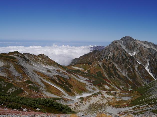 北アルプス 別山