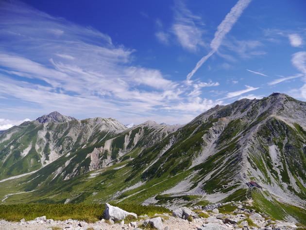 北アルプス 立山連峰