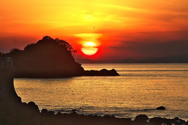 愛媛県八幡浜市 ねずみ島海岸