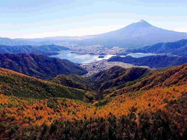 富士河口湖町 新道峠
