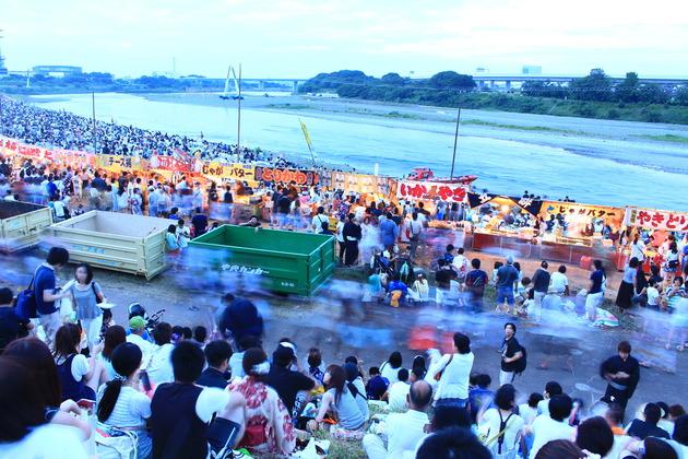 厚木、鮎祭り