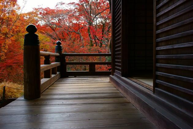 京都 嵯峨 宝筐院