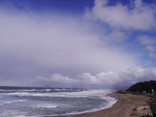 鳥取県白兎海岸