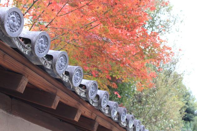 京都市 豊国廟参道の石碑横