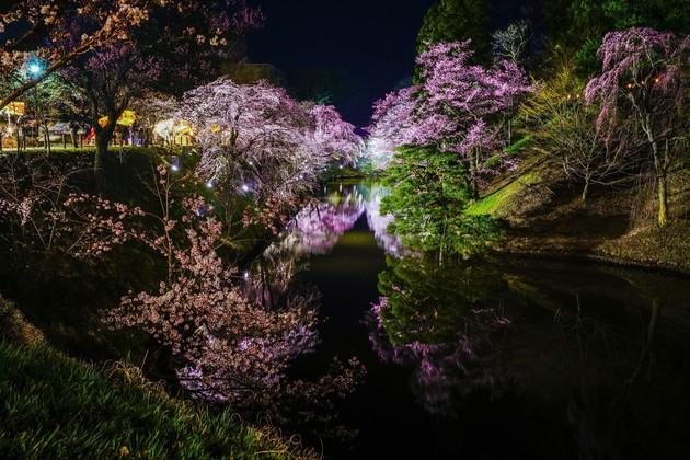 上田城跡公園、長野県上田市
