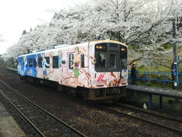 のと鉄道能登鹿島駅