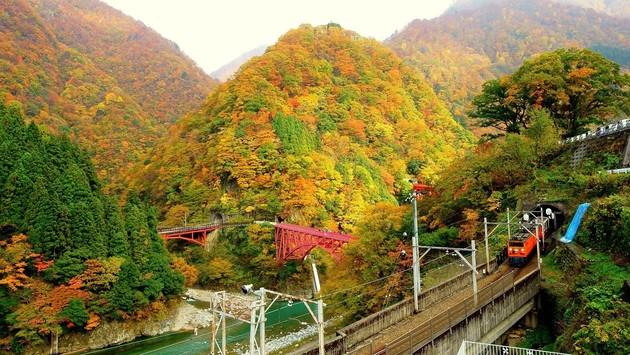 黒部渓谷宇奈月駅