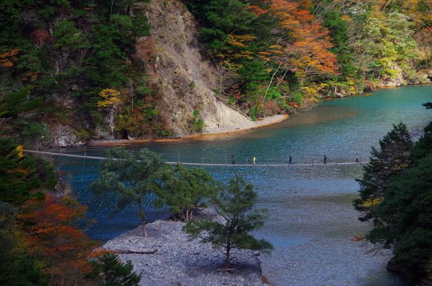 静岡県寸又峡