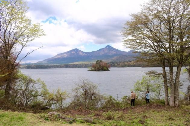 桧原湖、福島県北塩原村