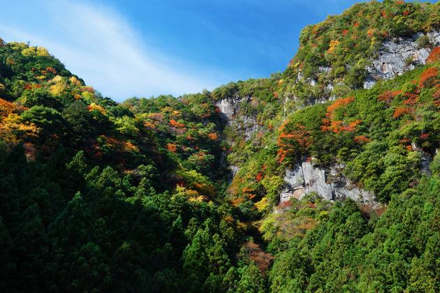 香落渓、三重県名張市