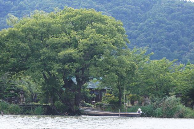 滋賀県近江八幡水郷