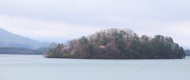 福島県、桧原湖