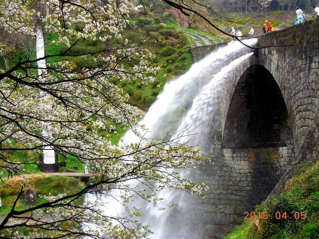 熊本県 大和町 通潤橋公園