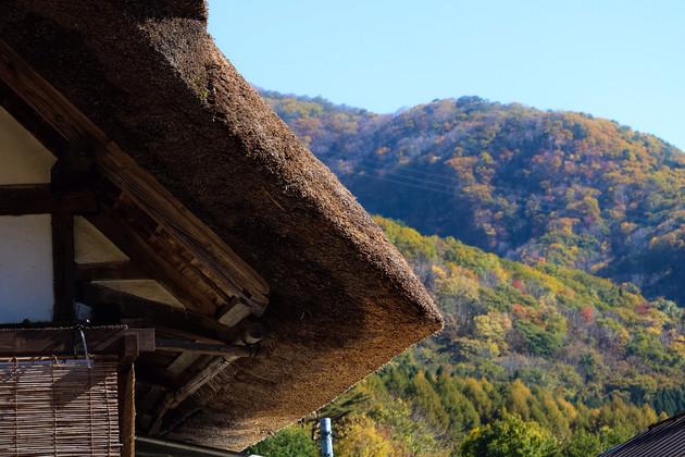 福島県、大内宿