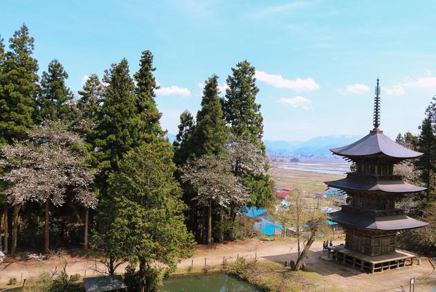 福島県、法用寺