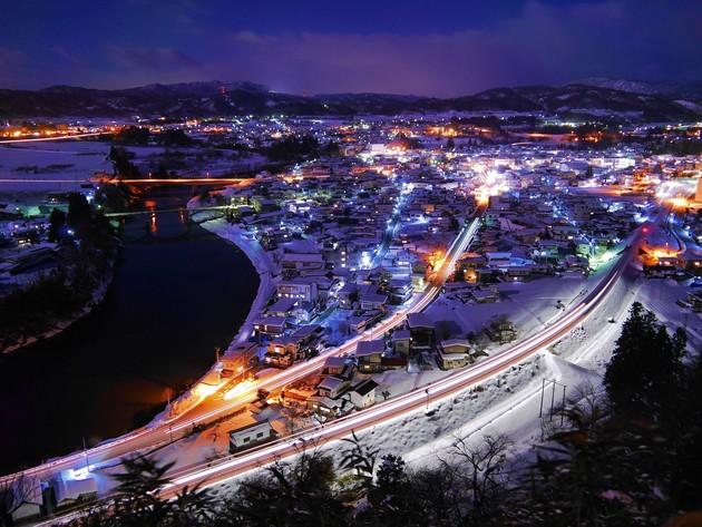 山形県大江町左沢楯山公園