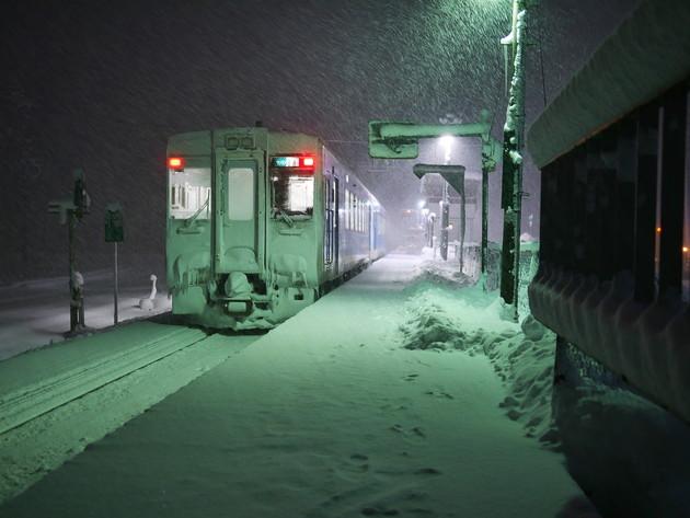 山形県東村山郡中山町羽前金沢駅