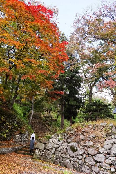 福島県、亀ヶ城跡