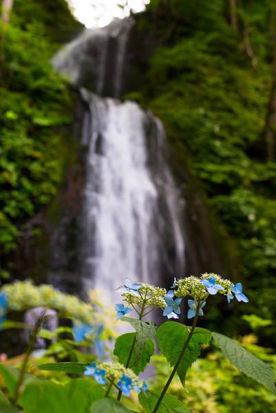 奥入瀬渓流、雲井の滝